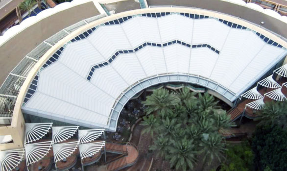 arizona center roof