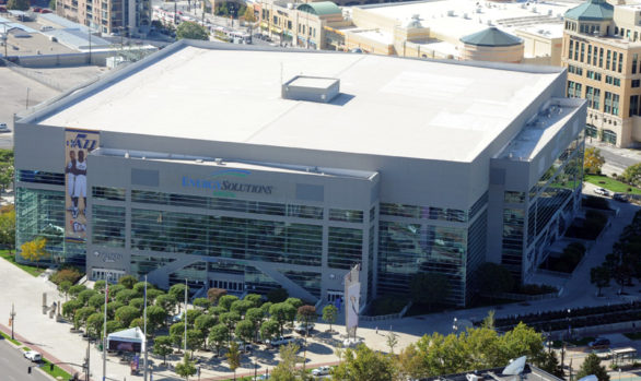 Energy Solutions Arena wind resistant roof