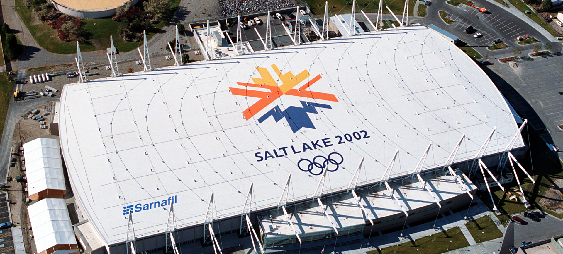 2002 Winter Olympic Oval Quality Flat Roofs Clark S