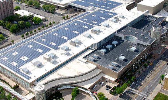 Salt palace solar panel roof