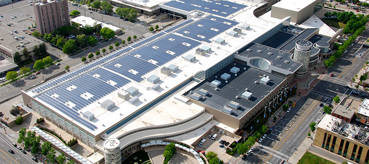 Salt palace solar panel roof