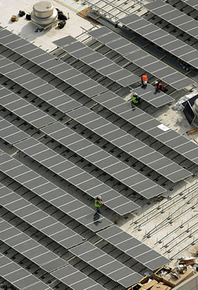 Clark's Quality Roofing Salt Palace solar panel installation