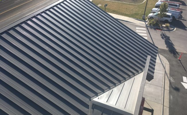 Parkland Common Metal Roof