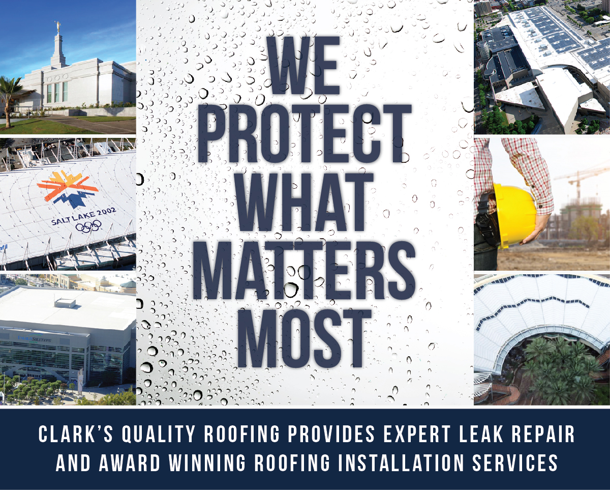 Clark's Quality Roofing provides expert leak repair and award winning roofing installation services.